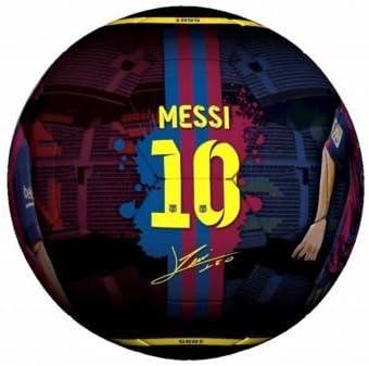 Oficial de Lionel Messi y el FC Barcelona pelota Tamaño 5: Amazon ...