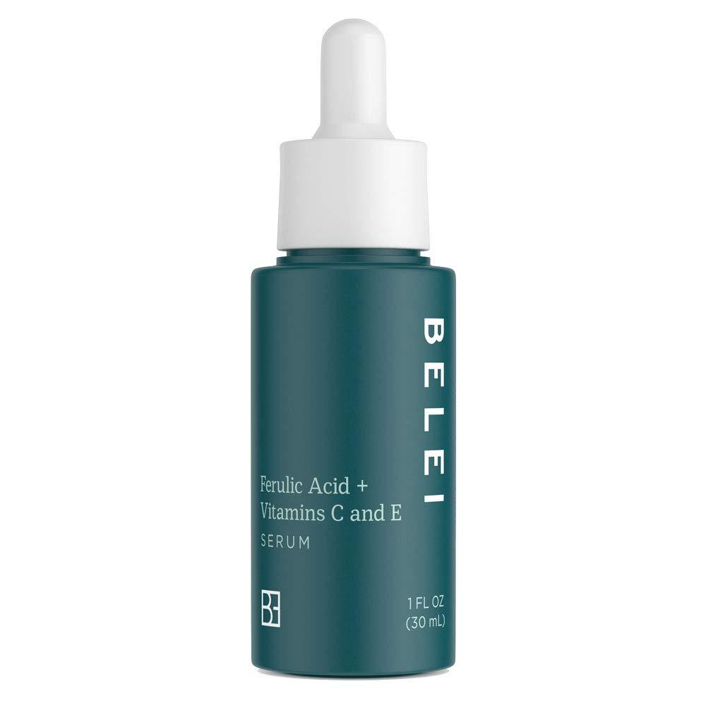 Belei Ferulic Acid + Vitamins C and E Serum, Fragrance Free, Paraben Free, 1 Fluid Ounce (30 mL) by Belei