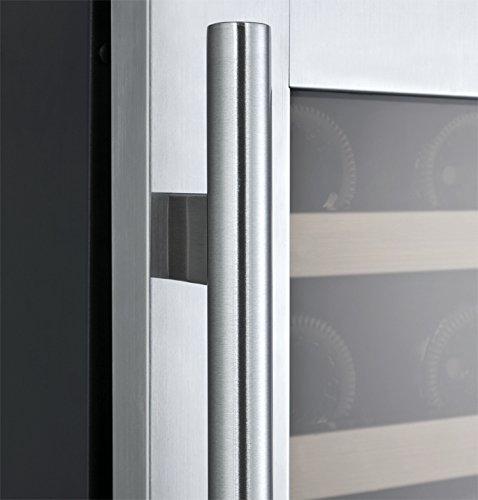 Allavino FlexCount VSWR56-2SSRN - 56 Bottle Dual Zone Wine Refrigerator with Right Hinge Built-In by Allavino (Image #6)