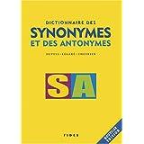 DICTIONNAIRE DES SYNONYMES ET DES ANTONYMES