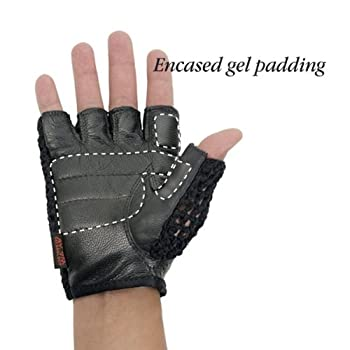 Mesh Heavy Duty Gel Gloves, Size: Small