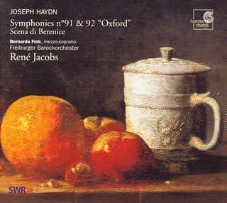 ハイドン:交響曲第91番・第92番