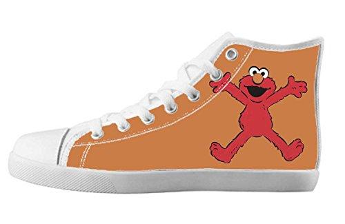 Elmo Sesame Street Design Girl's High-top Sneakers US 5