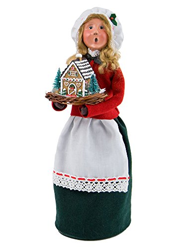 Byers Choice Christmas Figures (Byers' Choice Ltd. Woman with Gingerbread)