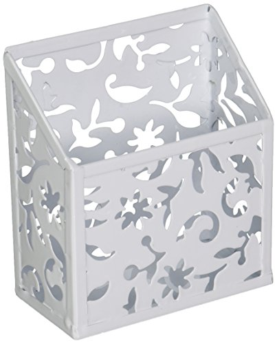 Design Ideas Vinea Magnetic Pencil Bin, White -