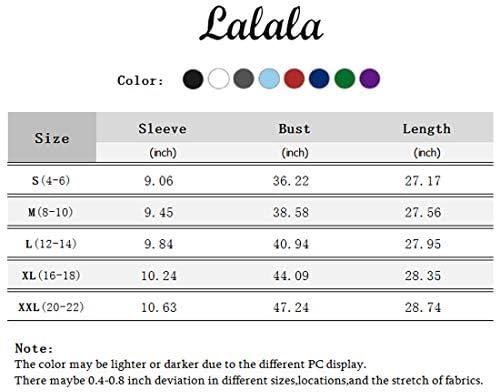 LALALA WOMEN'S SUMMER SHIRTS CASUAL LOOSE CREWNECK SIDE SPLIT TUNIC SHORT SLEEVE T-SHIRTS TOPS