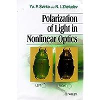 Polarization of Light in Nonlinear Optics