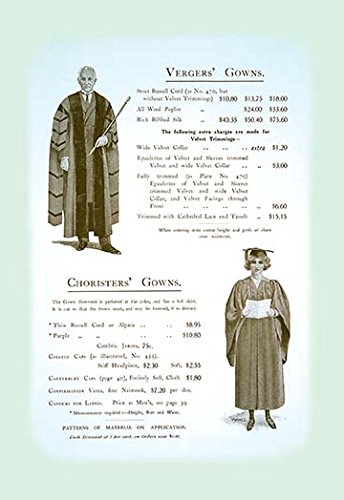 Buyenlarge Vergers' Gowns - Gallery Wrapped 28