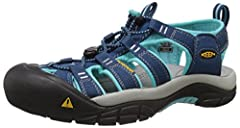 Order up some adventure with a side of water in the newport H2 from KEEN. Ready for adverse conditions, the razor sipped outsole and 3mm lugs provide.All KEEN water sandals are machine washable. Use a small amount of detergent, wash on gentle...