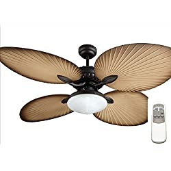 Ocean Lamp OL52040-T Gorgeous Butterfly Ceiling Fan W/Light&Remote Control