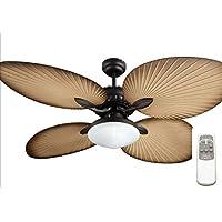 Ocean Lamp OL52040-T Gorgeous Butterfly Ceiling Fan W/Light&Remote Control