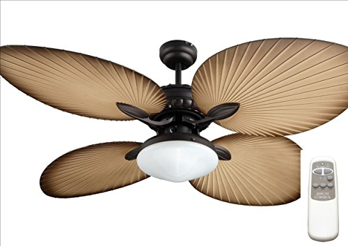 Ocean Lamp OL52040-T Gorgeous Butterfly Ceiling Fan W Light Remote Control