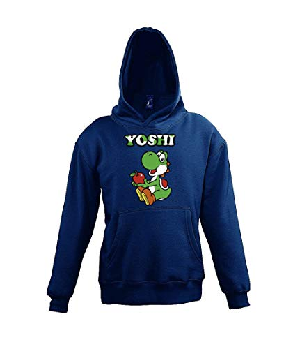 TRVPPY Kinderhoodie capuchontrui model Yoshi maat 4-12 jaar in vele kleuren