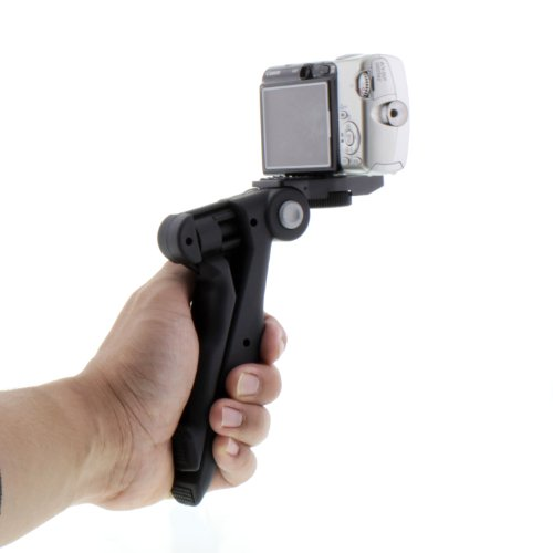 "Albinar in 4"" Hand Pistol Grip Mini Tripod Digital Cameras and Camcorders"