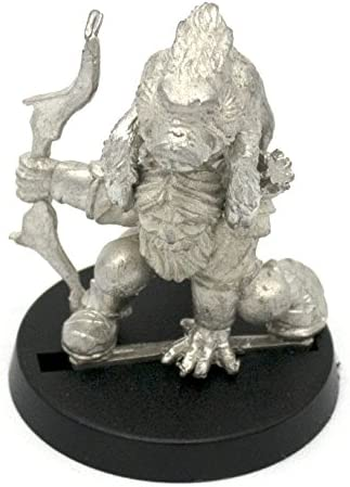 Stonehaven Male Dwarf Ranger Miniature Figure for 28mm Scale Table Top War