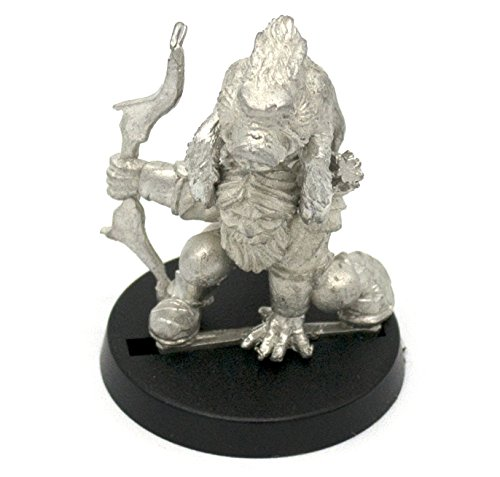 Stonehaven Dwarf Hunter Miniature Figure (for 28mm Scale Table Top War Games) - Made in USA ()