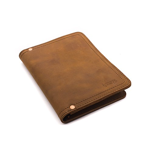 Saddleback Leather Co. Business Notepad Holder Full Grain Leather Pad folio for Legal Pads, Tablets and Business Cards Includes 100 Year Warranty ()