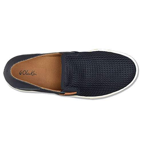 Chaussures OluKai Trench Dive Lacets pour Blue Camo Homme de Ville à FOxn1qdRgO