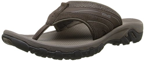 Teva Men's Pajaro Flip Flop, Turkish Coffee, 10 M US