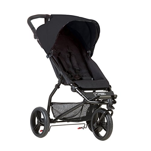 Mountain Buggy Mini V3.1 Stroller, Black ()
