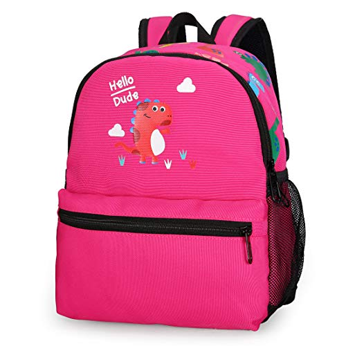 Dinosaur Preschool Bookbag Cute Toddler Backpack with Leash for Kid Girl Boy 3-6]()