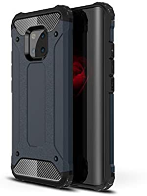 AOBOK Funda Huawei Mate 20 Pro, Azul Profundo Moda Armadura ...