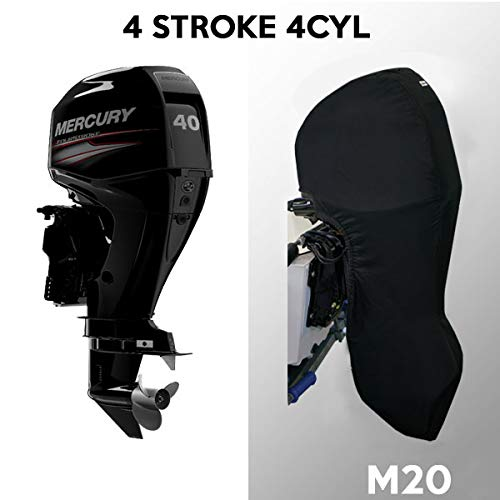Oceansouth Outboard Motor Full Cover for Mercury/Mariner (40-60HP 4 Stroke 4 - Cyl Motor Engine 4