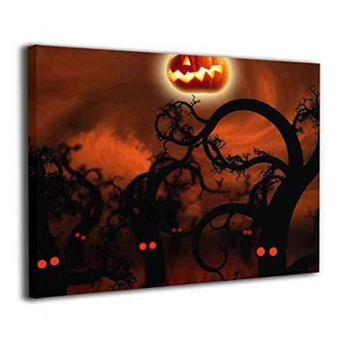 Mintslove Art Decor Happy Halloween Pumpkin Moon Creative 16