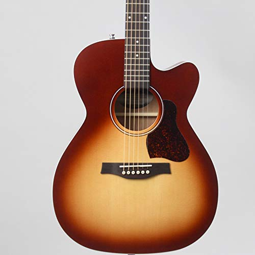 Seagull Entourage Autumn Burst CH CW Concert Hall Body Cutaway Acoustic-Electric Guitar with Gig Bag (046485) (Best Concert Hall Acoustics)