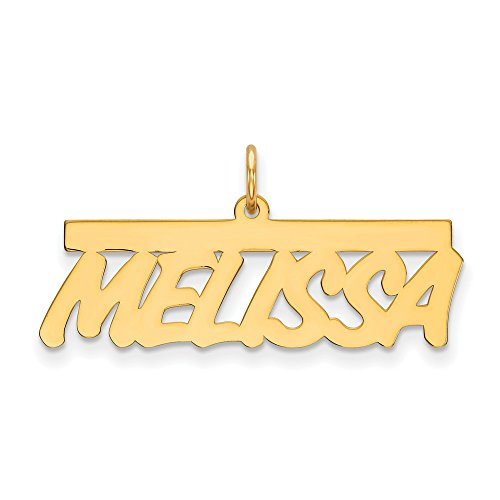 Sonia Jewels 14k Yellow Gold .013 Gauge Polished Nameplate - Flyer Pg. 2 ()