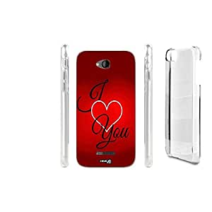 FUNDA CARCASA PHRASE LOVE CUORE PARA HTC DESIRE 616