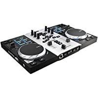 "Hercules DJControl AIR S series, USB DJ Controller with 8 Progressive Pads and ""AIR"" control with Audio Outputs for use with your headphones and your speakers (4780771)"