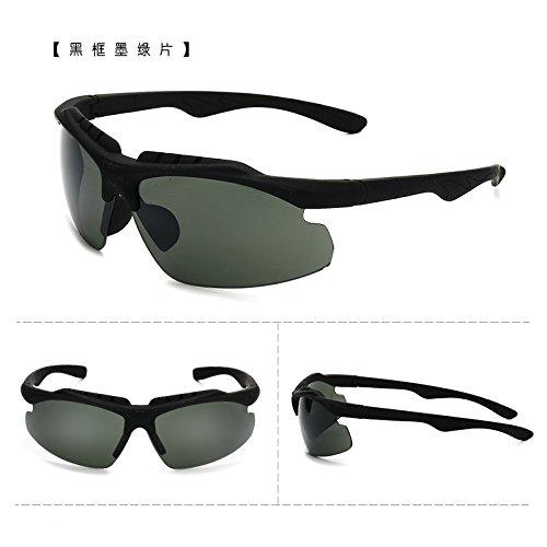 coupe - vent des bicyclettes motocyclettes lunettes de soleil les lunettes de soleil avec des lunettes course sports de plein air des lunettes de soleil les hommes et les femmes tideboîte rouge (sac) JspRxt2