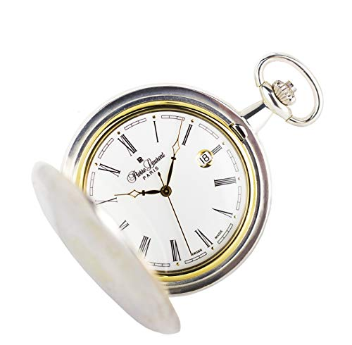 Pierre Laurent Swiss Made Sterling Silver Pocket Watch