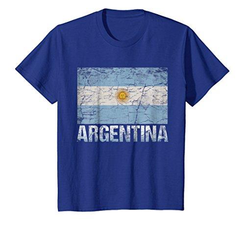 Argentina Flag T-Shirt-Argentina Flag Tee Shirt Gift