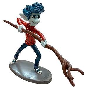 "Re Disney Pixar Onward Ian Lightfoot Lose PVC 3.5"" Figure Figurine Cake Topper"