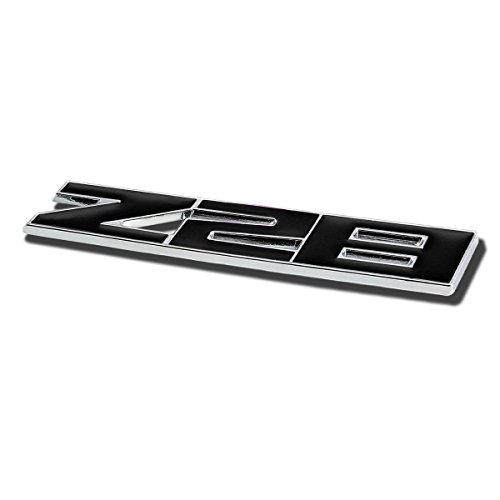 (Metal Emblem Decal Logo Trim Badge Z28 (Black))