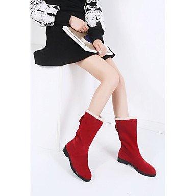 Casual Bootie Heel Office Spring Heels Ruby Winter Low amp; Comfort Women's Novelty Black Gll Beige 4in amp;xuezi Bowknot 1in Black Leatherette Career 1 3 XvxnwqZFz