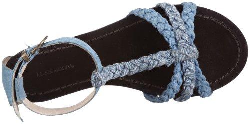 mujer sandalias azul Miss Sixty para F93790 Plummy azul vZq6qwI