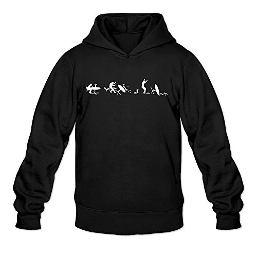 Men's F*ck It Terrible Awful Mood Hoodie Black XX-Large (Firday It)