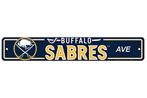 Buffalo Sabres Street Sign - Fremont Die NHL Buffalo Sabres Street Sign, One Size, Multicolor