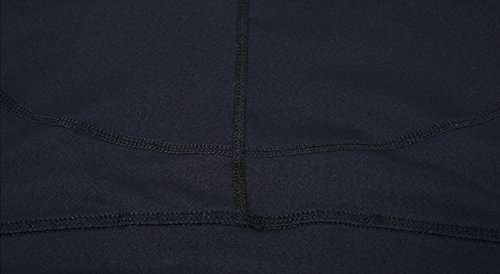 Pantalon Chandal de Malla Mujer Pantalones Deportivos Elásticos de Yoga Leggings Negro