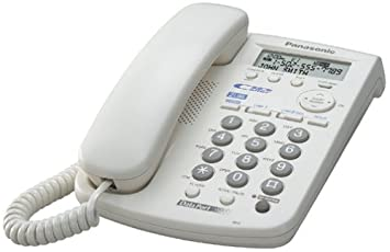 Exceptional Panasonic KX TSC14W 2 Line Corded Speakerphone With Caller ID (White)