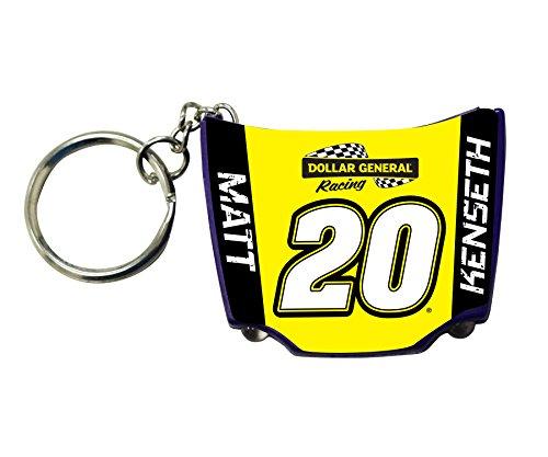 Matt Kenseth Keychain - Matt Kenseth #20 Hood Keychain