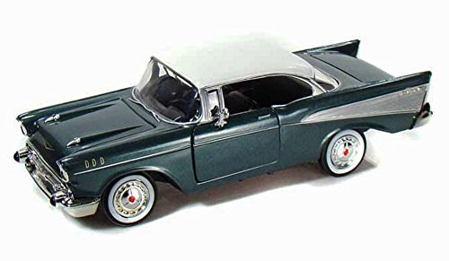 1957 Chevy Bel Air, Green - Showcasts 73228 - 1/24 scale Diecast Model Toy Car (Brand New, but NO BOX)