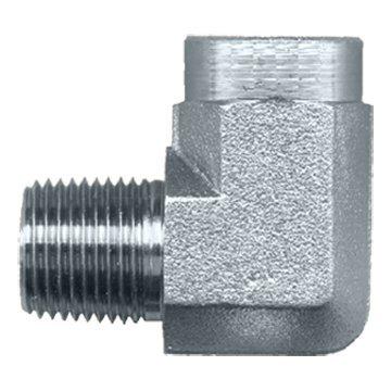 FASPARTS Steel Swivel 90 Degree Street Elbow L 1/8