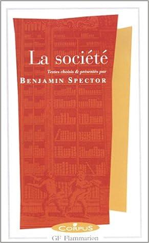 Livres gratuits en ligne La Société epub, pdf