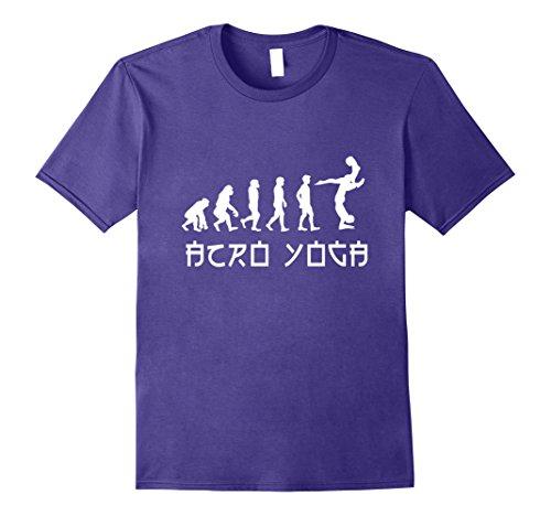 Acro Yoga T-Shirt – Funny Yoga Evolution Tee
