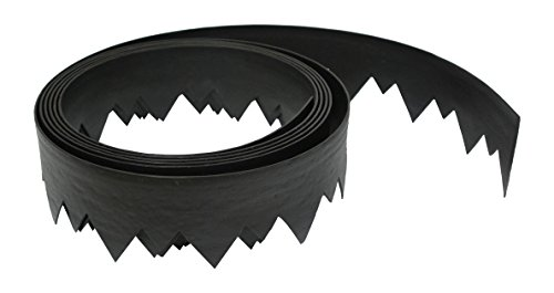 Dimex LandShark Pound-In Plastic Landscape Edging Project Kit, 20-Feet (3500-20C-3) (Patio Border Concrete And Brick)