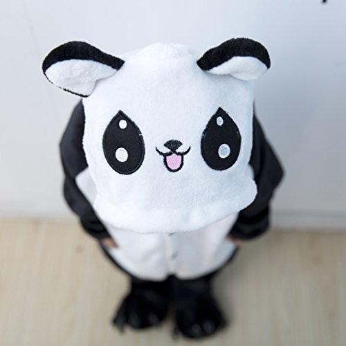 Panda Animal Kigurumi Costumes Halloween Tonwhar Cosplay Cartoon Children' Kids Onesie s PWqFxwUwnv